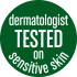 Dermatologist Tested on Sensitive Skin