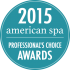 Professional's Choice Awards 2015 – American Spa