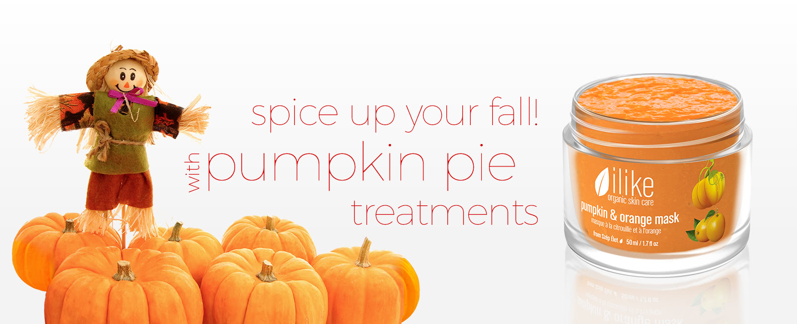 Spice Up Your Fall! With Pumpkin Pie Treatments