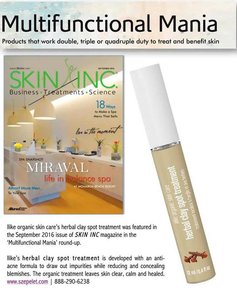 Multifunctional Mania with Skin Inc. scan
