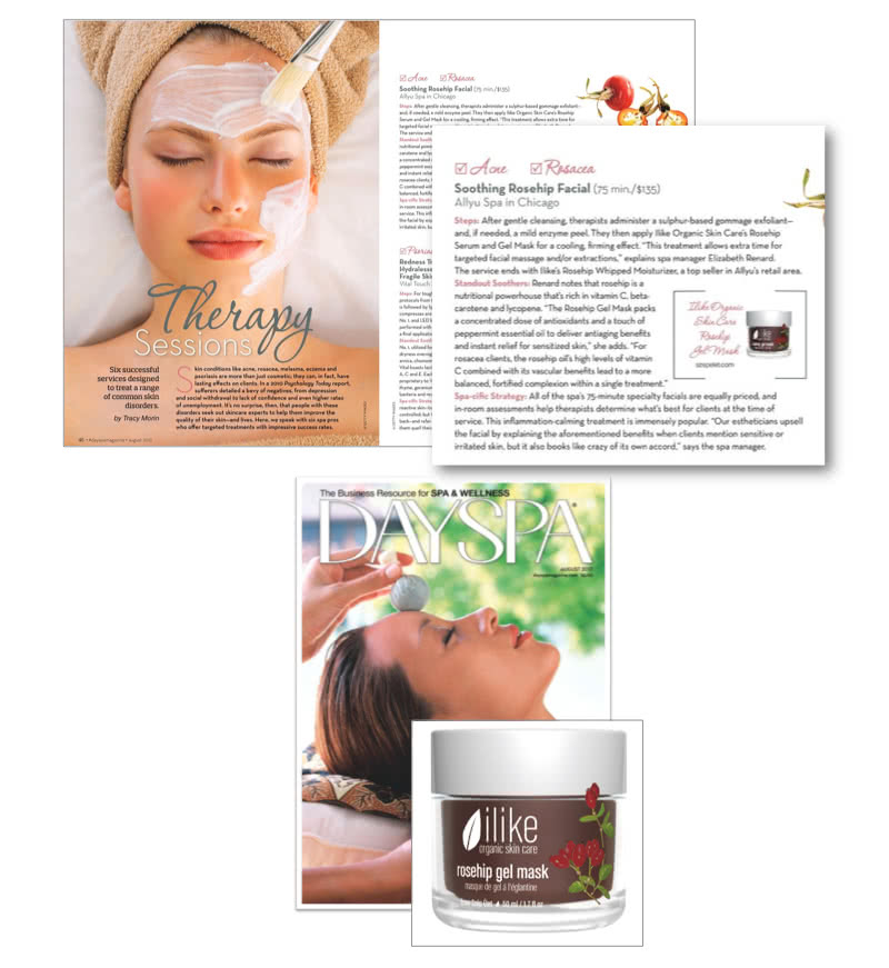 Soothing Rosehip Facial with DaySpa article